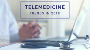 telemedicine trends graphic
